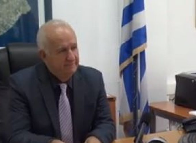VIDEO: Συνέντευξη του Επάρχου Θήρας κ. Χαράλαμπου Δαρζέντα