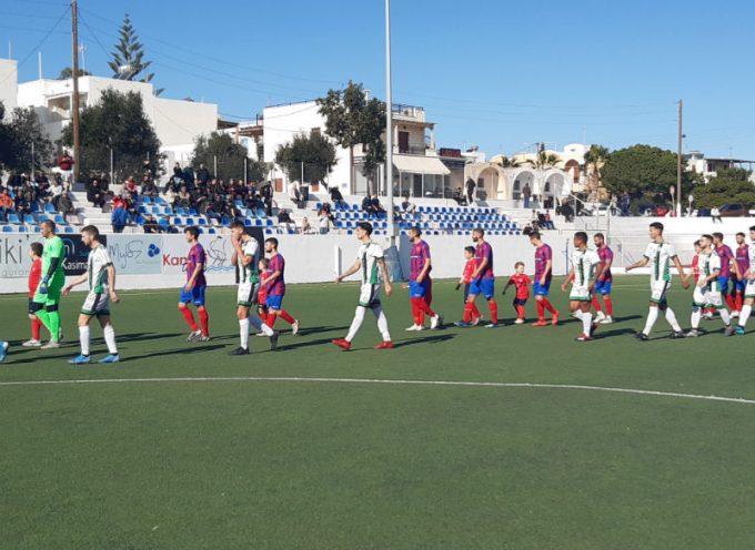 Θύελλα Καμαρίου: Πρώτη εντός έδρας ήττα από το Μοσχάτο με 2-0