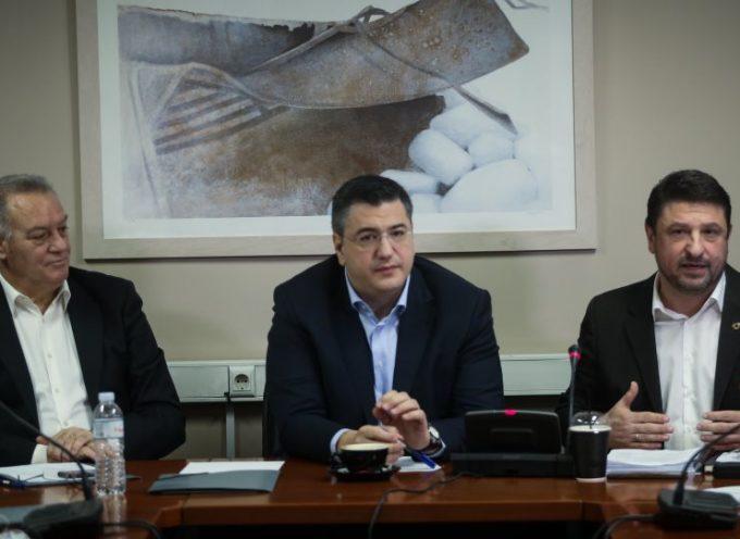 Χαρδαλιάς: Παρουσίασε το νέο νομοσχέδιο Πολιτικής Προστασίας στους Περιφερειάρχες