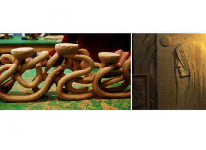 Νέα τμήματα των εργαστηρίων ξυλογλυπτικής και γλυπτικής από την Art.T.O.S