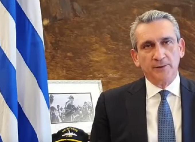 "VIDEO: Μήνυμα Γ. Χατζημάρκου για την 25η Μαρτίου: ""Και η δική μας γενιά θα νικήσει το δικό της πόλεμο"""