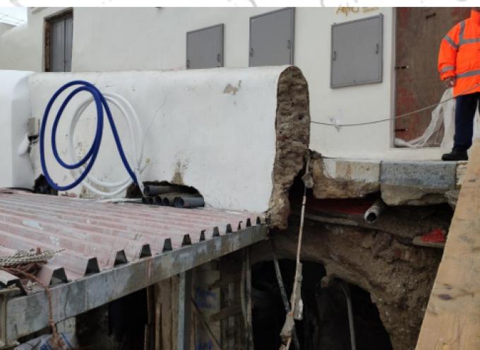 Η Αντιδήμαρχος Θήρας κα Σ. Κίτσου για την καθίζηση μονοπατιού στην Αρμένη