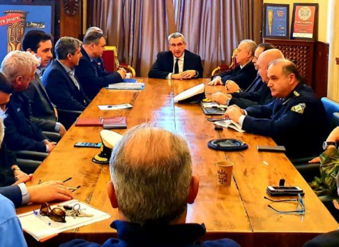 """""""Ετοιμότητα και ψυχραιμία"""" το μήνυμα της σύσκεψης φορέων που συγκάλεσε ο Περιφερειάρχης Ν.Αιγαίου για την προστασία της δημόσιας υγείας"""
