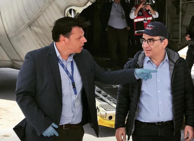 Τον υφυπουργό Υγείας κ. Κοντοζαμάνη συνάντησε ο Διοικητής του Γ.Ν. Θήρας κ. Μαλαματένιος