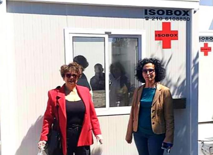 Δύο θάλαμοι απομόνωσης παραδόθηκαν στο Κέντρο Υγείας Τήνου από την Περιφέρεια Νοτίου Αιγαίου