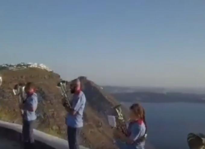 VIDEO: ΔΑΠΠΟΣ – Η εκπροσώπηση της Σαντορίνης στην Ευρωπαϊκή Γιορτή της Μουσικής από τη Φιλαρμονική μας