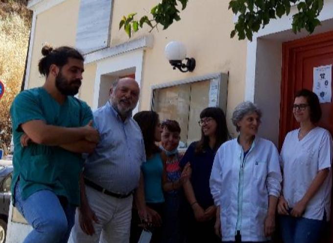 Την Κέα επισκέφτηκε ο Νίκος Συρμαλένιος