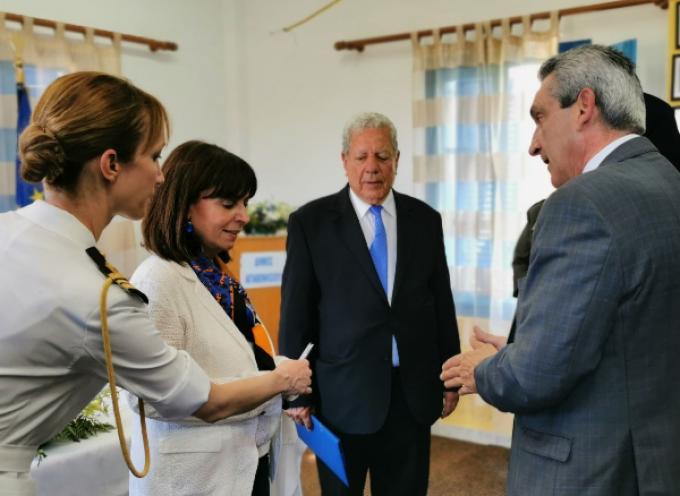 Την Πρόεδρο της Δημοκρατίας, Αικατερίνη Σακελλαροπούλου, υποδέχθηκε ο Περιφερειάρχης, σε  Αγαθονήσι και Λειψούς