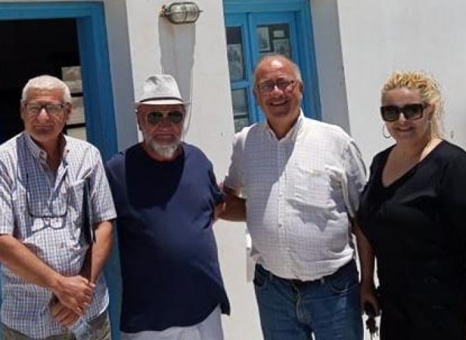 Συνάντηση του Επικεφαλής της Θηραϊκής Πολιτείας Ν. Ζώρζου με το σωματείο Επαγγελματιών Αλιέων Σαντορίνης