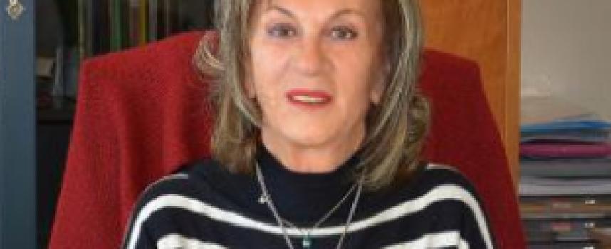 "H Πρόεδρος της Δ.Ε. του Συλλόγου Στήριξης του Γενικού Νοσοκομείου κα Λίτσα Πετίνη στην εκπομπή ""Θηραϊκές καλημέρες"""