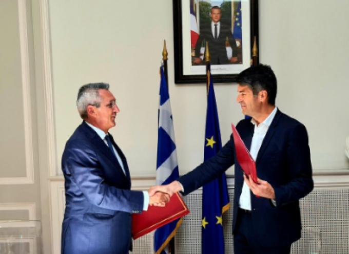 Μνημόνιο Αλληλοκατανόησης υπεγράφη μεταξύ Περιφέρειας Ν. Αιγαίου, Γαλλικής Πρεσβείας και Γαλλικού Ινστιτούτου Ελλάδος