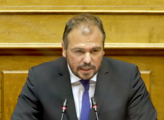 Τοποθέτηση του Βουλευτή Κυκλάδων Φίλιππου Φόρτωμα για το φορολογικό νομοσχέδιο του Υπουργείου Οικονομικών
