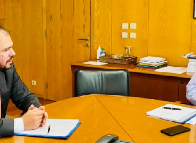 Τον Υπουργό Υποδομών & Μεταφορών Κ. Καραμανλή συνάντησε ο Φίλιππος Φόρτωμας