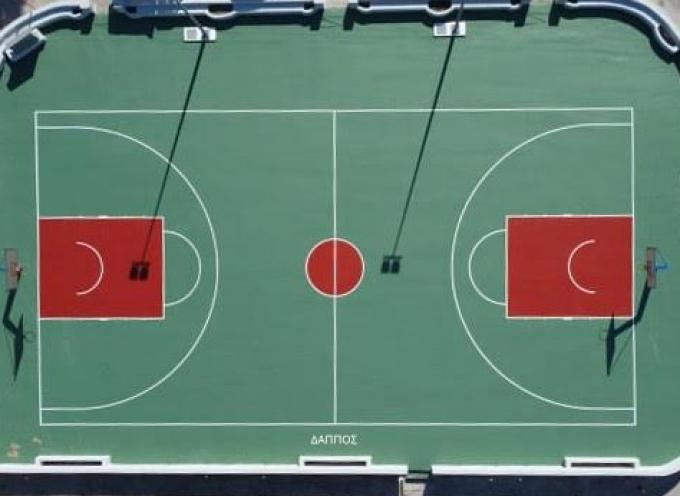 ΔΑΠΠΟΣ: Ανακαινίστηκε το γήπεδο μπάσκετ της τοπικής κοινότητας Ημεροβιγλίου