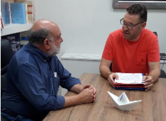 Επίσκεψη – περιοδεία Νίκου Συρμαλένιου στην Τήνο