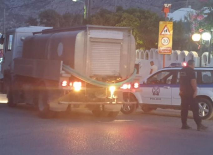 Φωτιά εκδηλώθηκε στην περιοχή του Καμαρίου Θήρας την Τετάρτη 12 Αυγούστου (Video & φωτογραφίες)
