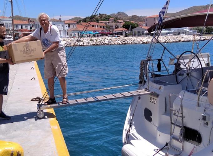 "Aegean Cargo Sailing 2020:  ""Πλέουμε προς τη Σαντορίνη"""