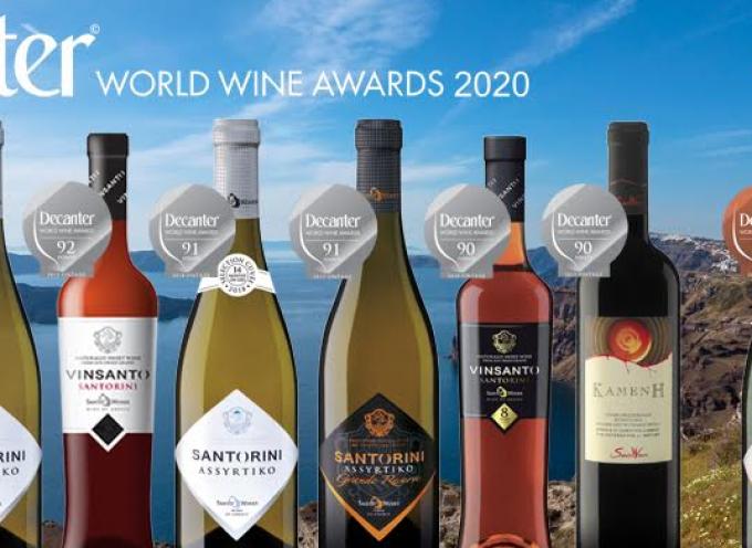 9 στα 9 βραβεία για τη SantoWines στο Decanter World Wine Awards 2020