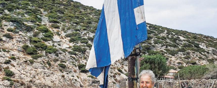 VIDEO: Η κυρά του βράχου. Η ακούραστη φρουρός του Αιγαίου – Αποστολή στην Κίναρο