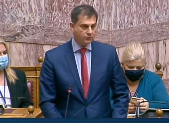 Τροπολογία για την παράταση της μίσθωσης των ξενοδοχείων καραντίνας  κατέθεσε στη Βουλή ο Υπουργός Τουρισμού κ. Χ.Θεοχάρης. (ΒΙΝΤΕΟ)