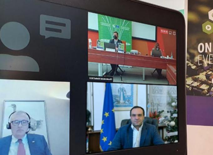 Συμμετοχή του Δημάρχου Μυκόνου, κ. Κ. Κουκά στη διαδικτυακή εκδήλωση του Κογκρέσου Τοπικών και Περιφερειακών Αρχών του Συμβουλίου της Ευρώπης