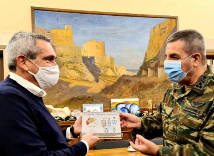Με τον Αρχηγό Γ.Ε.Σ., Αντιστράτηγο Χαράλαμπο Λαλούση συναντήθηκε ο Περιφερειάρχης Ν. Αιγαίου
