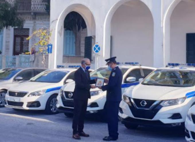 Τριάντα πέντε (35) νέα οχήματα παρέδωσε η Περιφέρεια Ν.Α. στην Ελληνική Αστυνομία