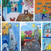 Οι ζωγραφιές των μαθητών της ART.O.S. ξεκινάνε το μακρύ ταξίδι για την … Ιαπωνία!!