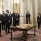 Πραγματοποιήθηκε η ορκομωσία Υπουργών, Αναπληρωτών Υπουργών και Υφυπουργών ενώπιων της Προέδρου Της Δημοκρατίας και του Πρωθυπουργού