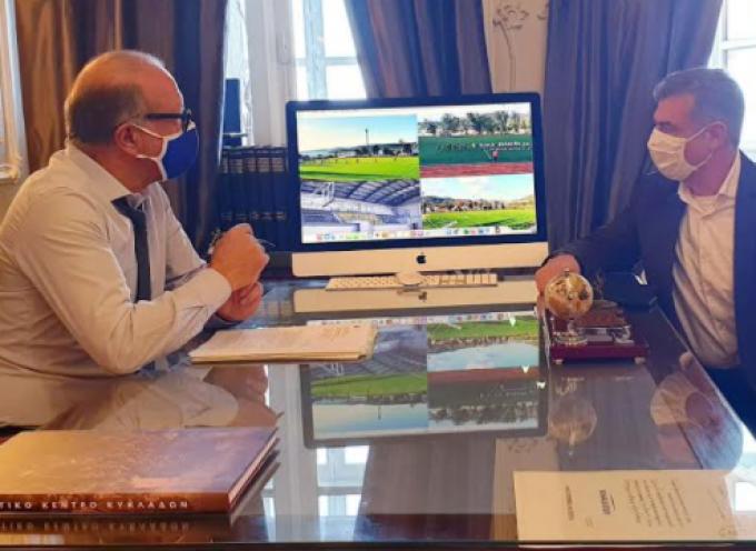 Με τον Δήμαρχο Πάρου συναντήθηκε ο Αντιπεριφερειάρχης Κυκλάδων Γ. Λεονταρίτης