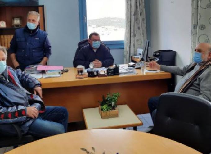 Τη Μήλο επισκέφτηκε ο Βουλευτής Κυκλάδων Ν. Συρμαλένιος