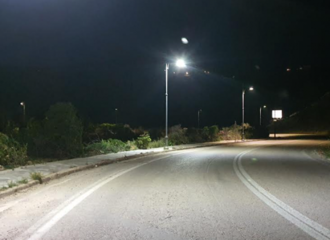 Τήνος: Ηλεκτροφωτισμός της περιμετρικής περιφερειακής οδού της Χώρας