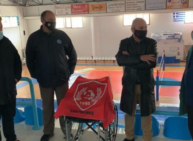 """Πλαστικά καπάκια παρέδωσε η ΠΕΦΟ Σαντορίνης στο Σύλλογο """"Αγάπη Φροντίδα ζωής"""""""