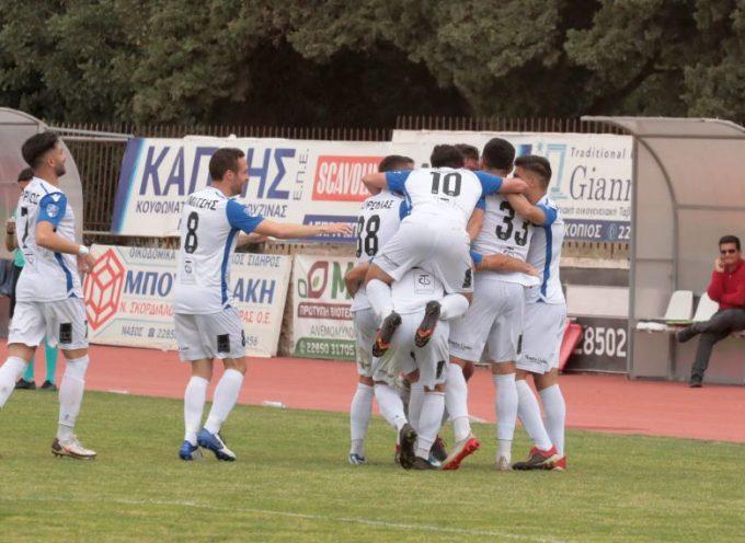 8η Αγωνιστική: Σαντορίνη – Ρόδος 1-0