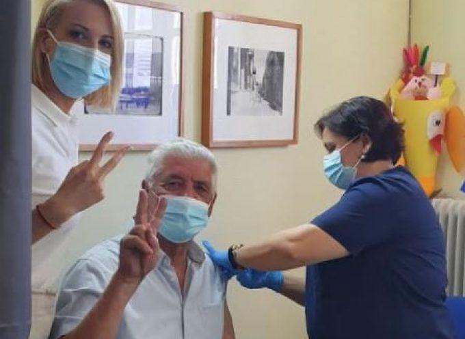 Στο Κέντρο Υγείας Μυκόνου η βουλευτής Κυκλάδων της Νέας Δημοκρατίας Κατερίνα Μονογυιού με αφορμή την επιχείρηση «Γαλάζια Ελευθερία»