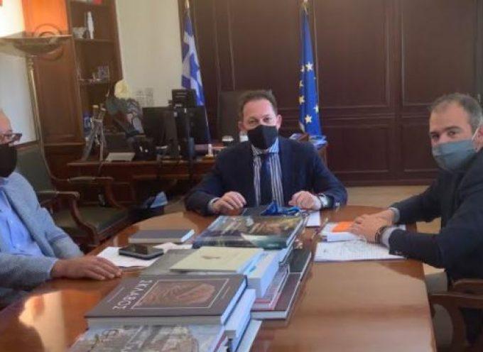 Στο Υπουργείο Εσωτερικών για το πρόγραμμα «Αντώνης Τρίτσης» ο Φίλιππος Φόρτωμας
