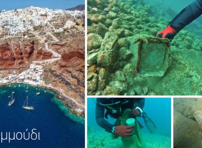 Dive In Action: Επιθεώρηση και καθαρισμός στον Άγιο Νικόλαο Αμμουδίου