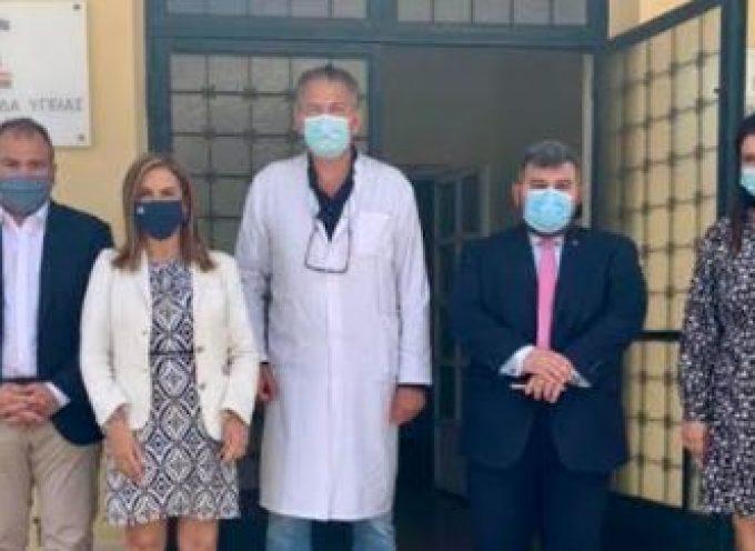 Με την Υφυπουργό Ψυχικής Υγείας κ. Ζωή Ράπτη ο Φίλιππος Φόρτωμας στη Σύρο