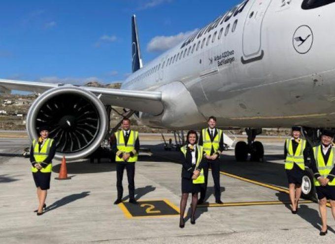 Περισσότερα από 1.300 αεροπλάνα από το εξωτερικό πέταξαν με προορισμό το Νότιο Αιγαίο ο απολογισμός του πρώτου μήνα της τουριστικής περιόδου