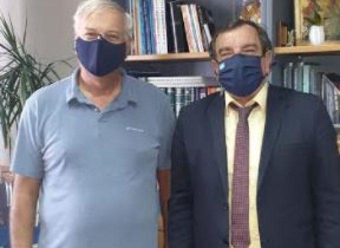 Διήμερη επίσκεψη εργασίας του Γ.Γ. του Υπουργείου Εσωτερικών στο Δήμο Θήρας