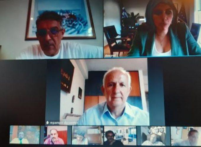 Σε συνεδρίαση της ΔΕΕΠ με θέμα τον Τουρισμό στις Κυκλάδες συμμετείχε ο Έπαρχος Θήρας Χ. Δαρζέντας