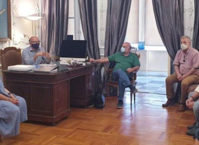 Επίσκεψη του Βουλευτή Κυκλάδων του ΣΥΡΙΖΑ στον Αντιπεριφερειάρχη Κυκλάδων