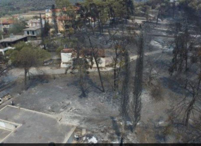 Εύβοια: Σε Γαλατσώνα, Ελληνικά, Αγριοβότανο οι φλόγες – Εκκενώνονται με μήνυμα του 112 Γούβες, Αρτεμίσιο, Καστρί, Βουλίκι και Πευκί
