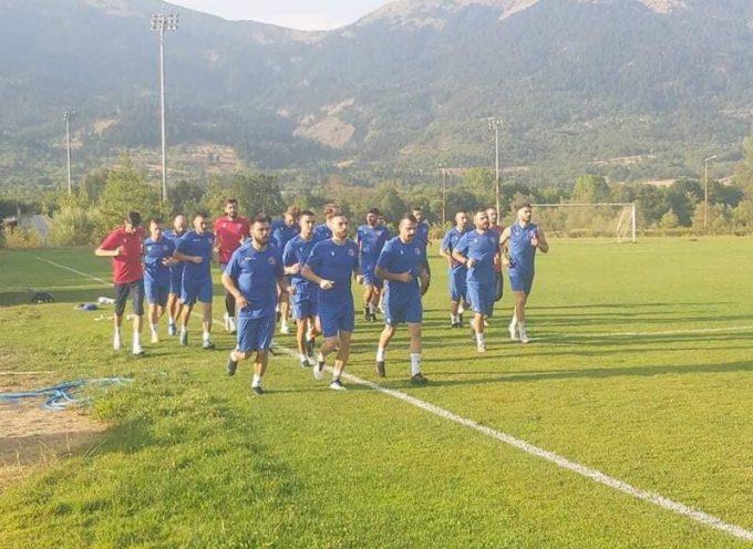 Ολοκληρώθηκε πριν από λίγη ώρα η προετοιμασία της ομάδας μας ενόψει του αυριανού αγώνα για το θεσμό του Κυπέλλου Ελλάδας με αντίπαλο την Προοδευτική.