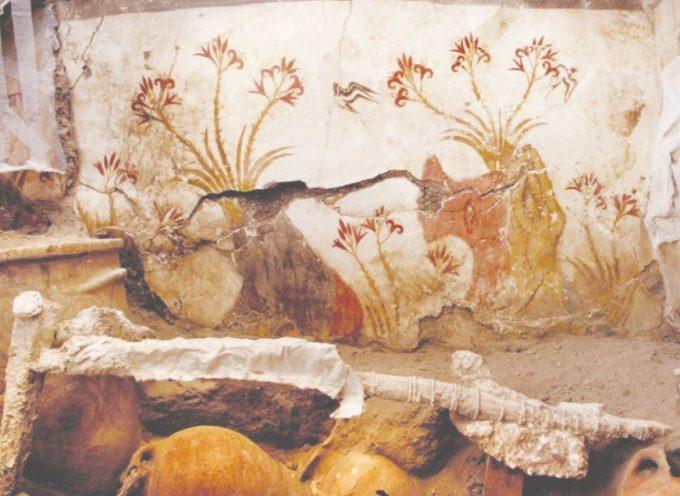 Ναννώ Μαρινάτου:Όταν η έκρηξη του ηφαιστείου κατέστρεφε σπίτια και σοδειές στην Κρήτη.