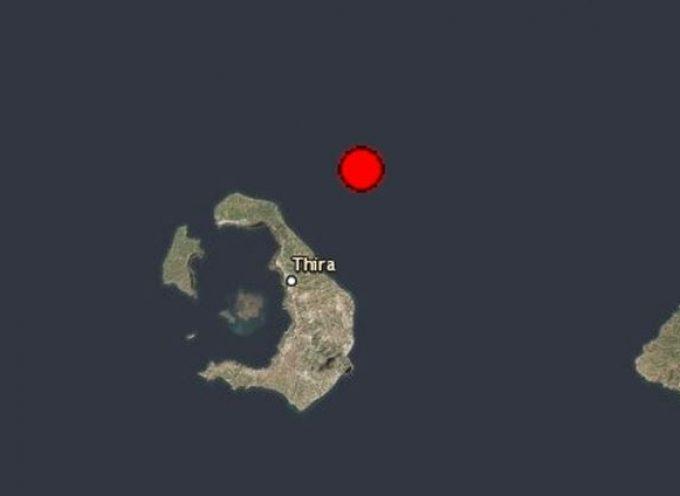 Σεισμός 3,7 Ρίχτερ στη Σαντορίνη