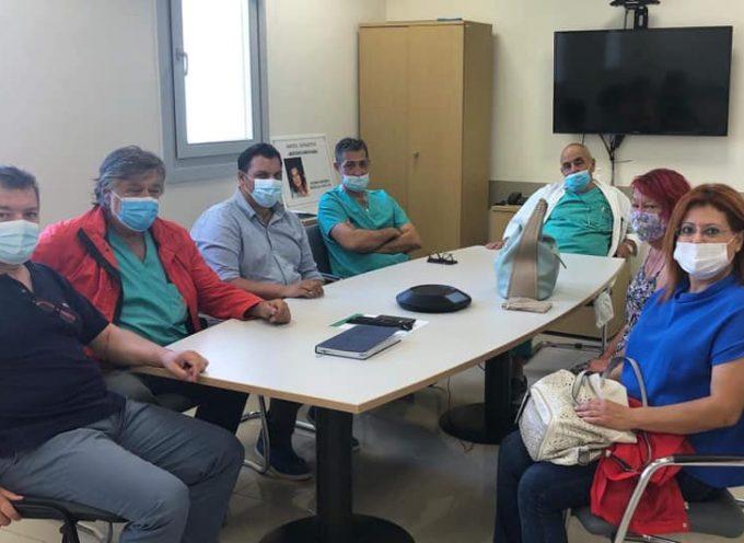 Β.Μαλαματένιος:Καλοσωρίζουμε 4 καινούριους γιατρούς στο Νοσοκομείο μας