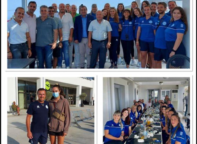 Με Μίτροβιτς το «welcome drink» της διοίκησης του Α.Ο. Θήρας στην ομάδα